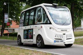 自动驾驶巴士服务在塔林进行测试