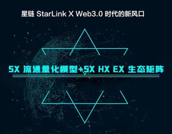 头矿:星链区块网StarLink X首发上线薄饼Pancakeswap,并于10日在DAPP开启头矿